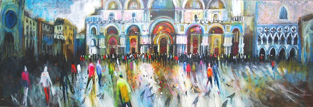 'THE GATHERING' (Venice) Available