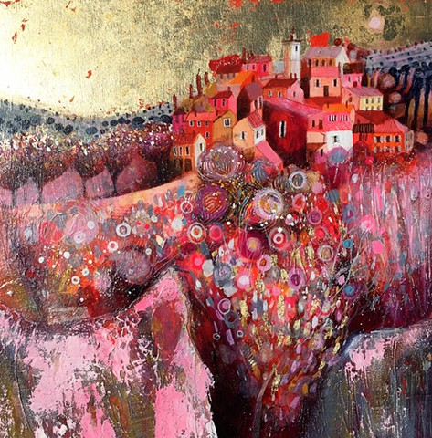 'LA NUIT EN ROSE' Sold