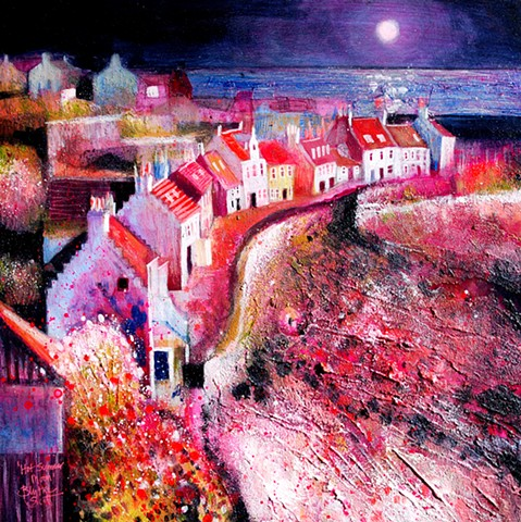 'HOT SUMMER MOON' Sold