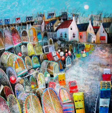 'COLOUR & CREELS, FINDOCHTY' Sold