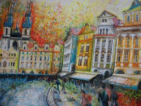 'HAPPY HOUSES, PRAGUE'