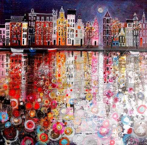 'MOONLIGHT ON AMSTERDAM'