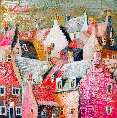 'FROSTY ROOFTOPS' Sold