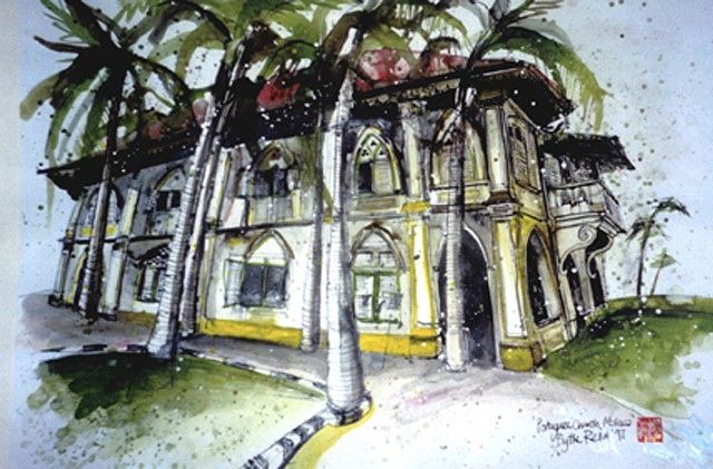 'PORTUGUESE CHURCH, MALACCA' Sold