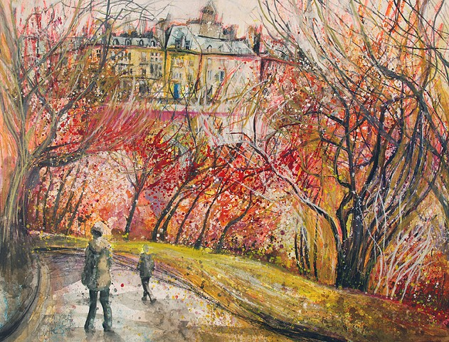 'TANGLED TREES, KELVINGROVE, GLASGOW'