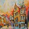 'CURVES & CORNERS, COCKBURN STREET, EDINBURGH'