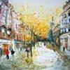 'FALLING LEAVES, BUCHANAN STREET, GLASGOW'