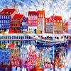 'WATER DANCE, COPENHAGEN'