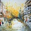 'FALLING LEAVES, BUCHANAN STREET'