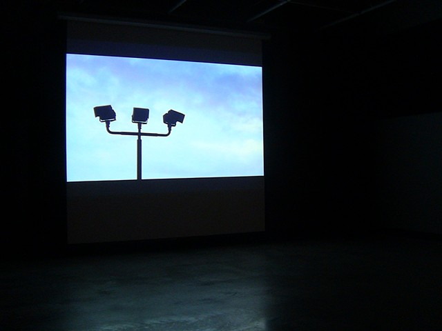 installation video, Day / Night / Day