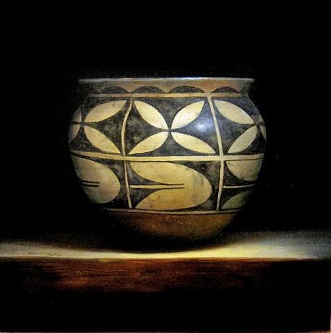 santa domingo (kewa) storage jar/ sold