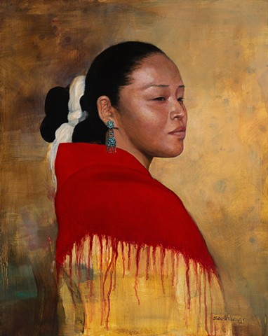 traditional navajo girl/ sold