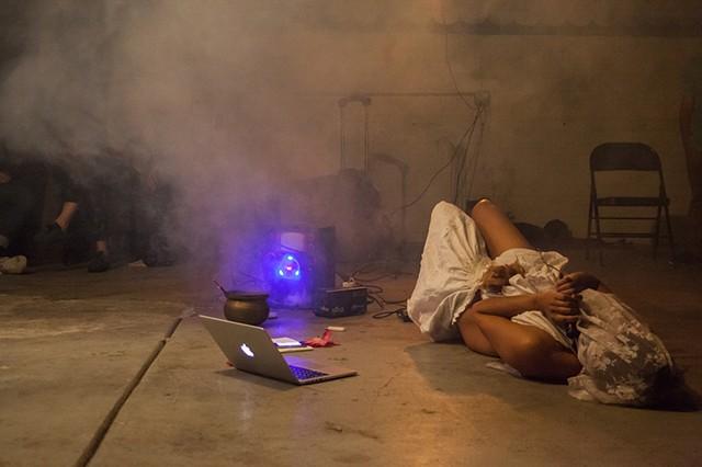 Incarnata Social Club hosted by Kembra Pfahler Documentation by Alisha Funkhouser