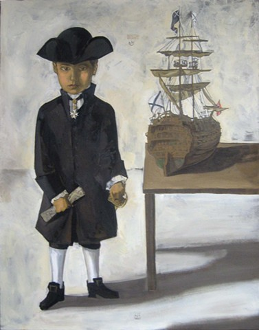 Portrait of the Son As a Young Admiral