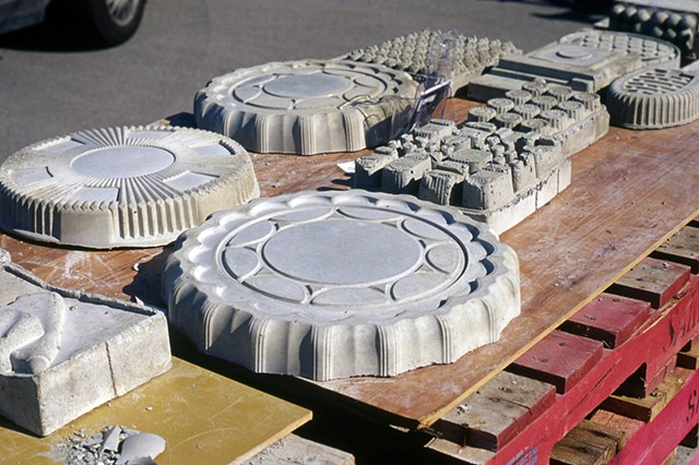concrete casting, mapping, consumerism, interactive, out door, do it yourself, workshop