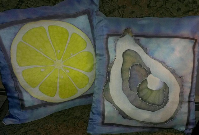 Pillows - Oyster and Lemon