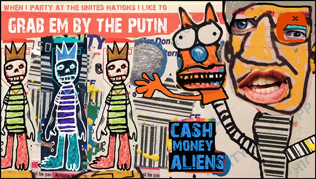 Cash Money Aliens #282