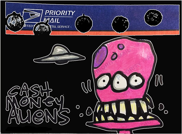 Cash Money Aliens #271