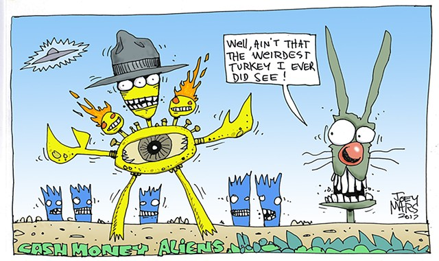 Cash Money Aliens #441