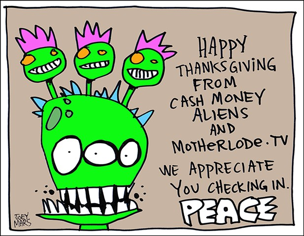Cash Money Aliens #253