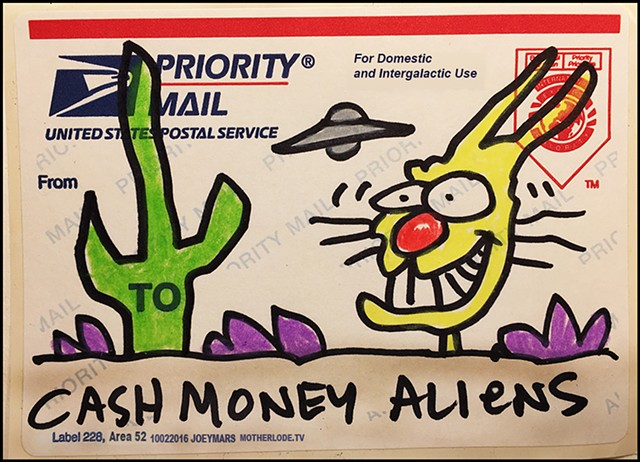 Cash Money Aliens #203