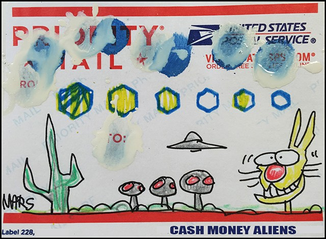 Cash Money Aliens #143
