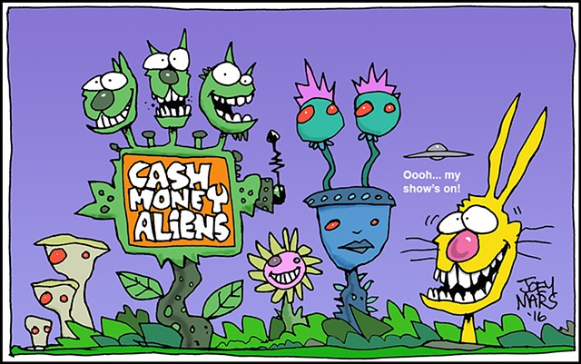 Cash Money Aliens #209