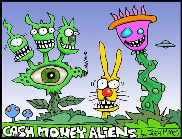 Cash Money Aliens #184