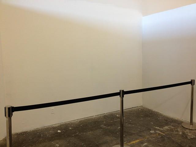Erasing Sol LeWitt Wall Drawing 45A