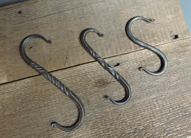 """S"" hooks simple to fancy"