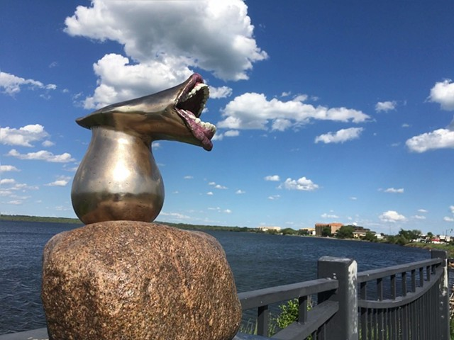 Explorations of the oral fixation: On view now on the Bemidji Sculpture Walk