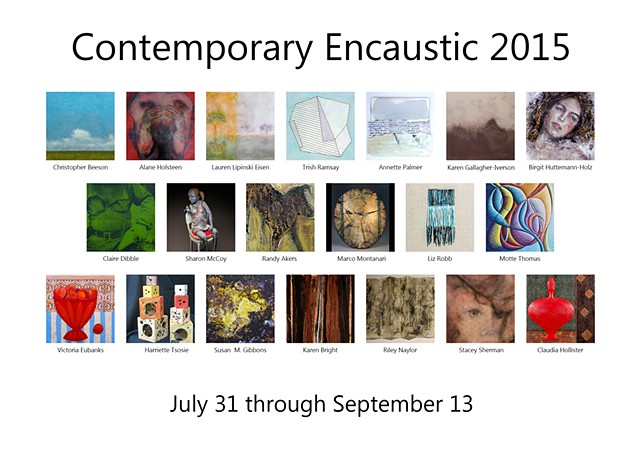 Contemporary Encaustic 2015