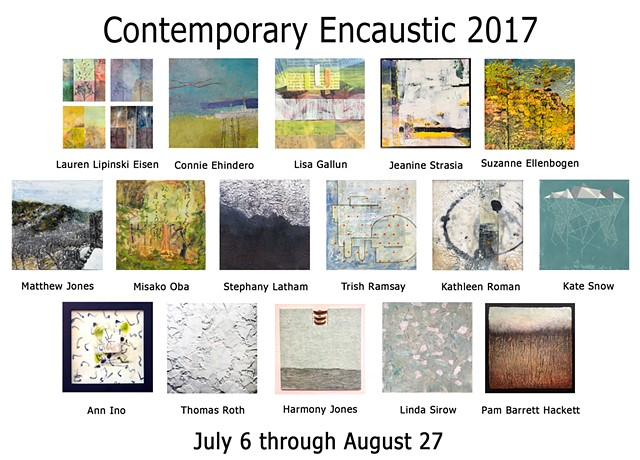 Contemporary Encaustic 2017