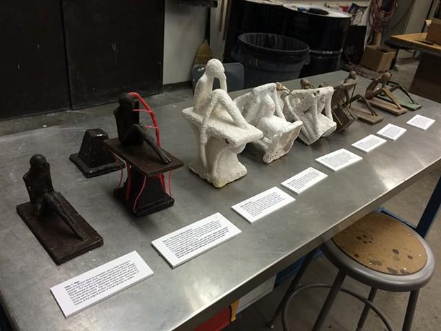 Lost wax casting process