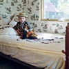 Arty the cowboy in his bedroom, Itasca, IL
