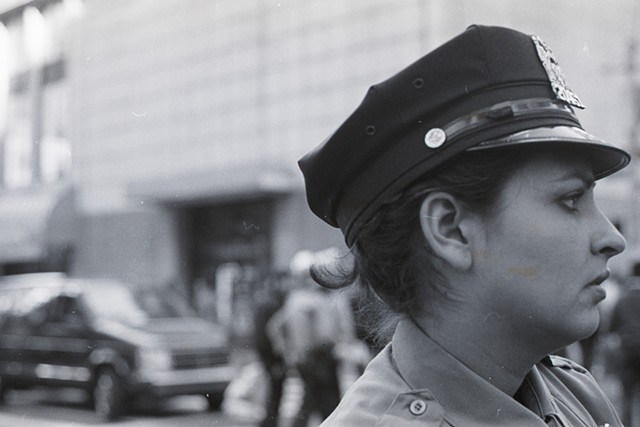 NYPD, Protest, 1990, NYC