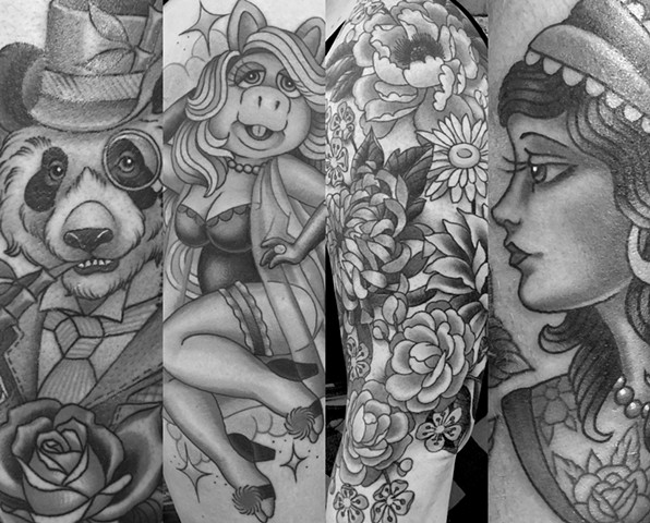 Tattoos by Megan Mac