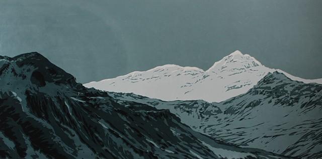 Green Glacier, Iceland