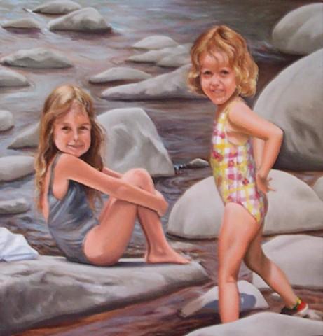 Young Sara & Anna