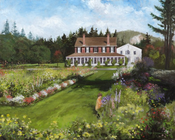 """Eastman Hill Flower Gardens"""