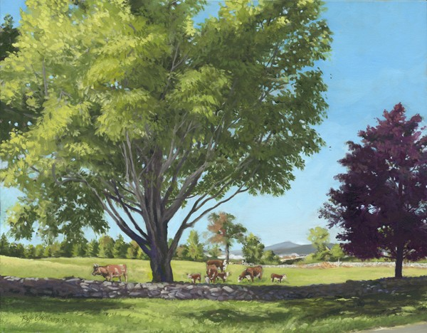 """""""Eastman Hill with Cows"""""""