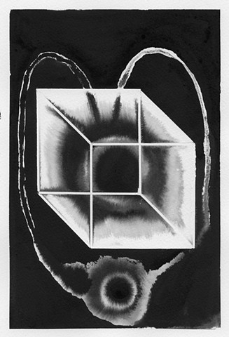 Untitled (eye in cube)