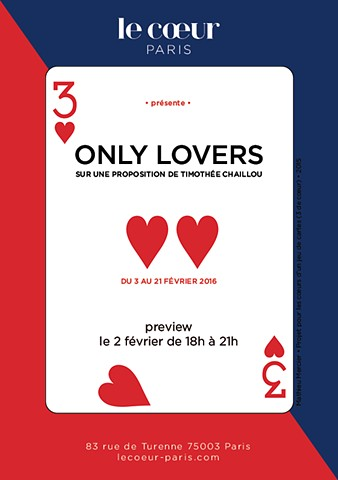 Group exhibition at Le Coeur - Paris