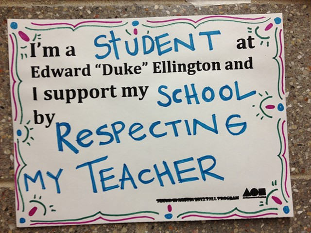 Respecting My Teacher