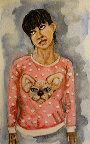 dana & cat - 2015