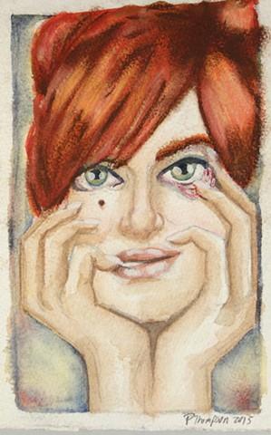 Flirty eyelid pull - 2015