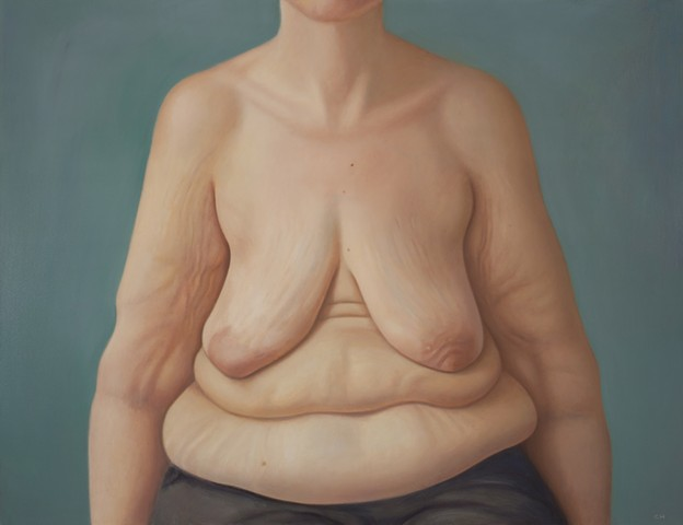 Portrait of AnnMarie, after she lost 100 pounds.