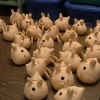 Salt Pigs Ready to be Glazed