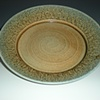 Large round serving platter - Denali Glaze