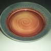 Sunrise Platter with Textured Rim